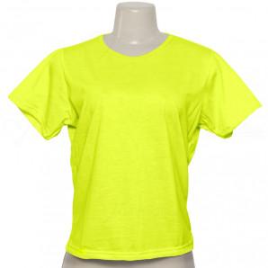 Baby Look Amarela Neon