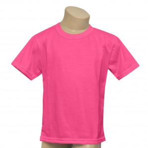 Camisa Infantil Pink Neon