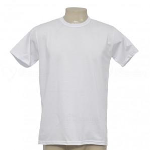 Camiseta Algodão Penteada 30.1 Branca