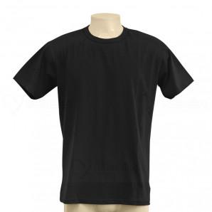Camiseta Algodão Penteada 30.1 Preta