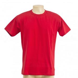 Camiseta Algodão Penteada 30.1 Vermelha