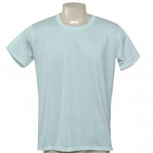 Camiseta Poliéster Tradicional Azul