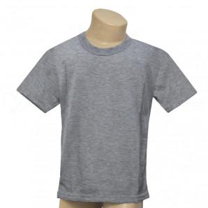 Camiseta Poliéster Tradicional Mescla Infantil