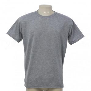 Camisa Poliéster Tradicional Mescla