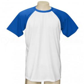 Camiseta Raglan Manga Azul