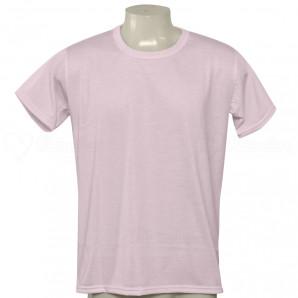Camiseta Poliéster Tradicional Rosa
