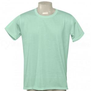 Camiseta Poliéster Tradicional Verde