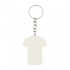 Chaveiro MDF Camiseta | Kit com 12