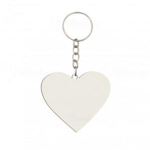Chaveiro MDF Coração | Kit com 12