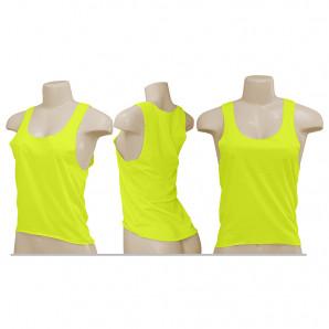 Cropped Amarelo Neon | Feminino Poliéster