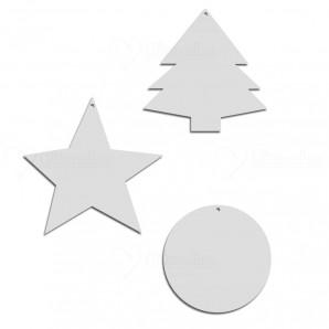 Kit de Natal com 3 Peças