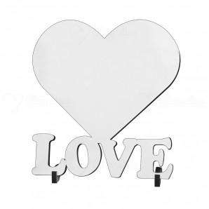 MDF Coração / Love com Suporte