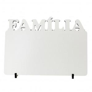 Quadro MDF 20X28- FAMILIA