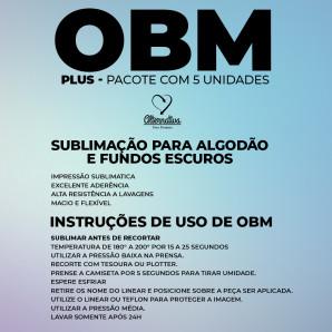 Papel OBM Plus - A4 - Pacote c/ 5 Un.