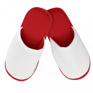 Pantufa Adulto Vermelha