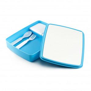 Pote de Marmita Azul com Kit Interno.