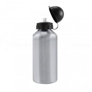 Squeeze Alumínio Prata Bolinha 500ml