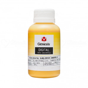 Tinta para sublimação Gênesis Amarela  100 ML