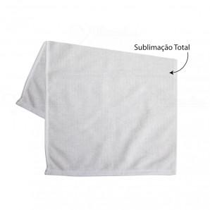 Toalha Branca Sublimação Total