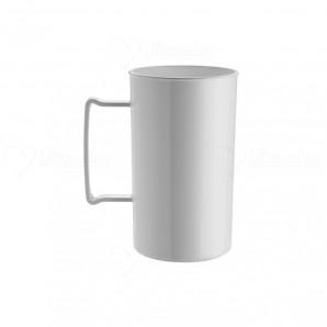 Caneca de Chopp Pratic 450 ml | Branca