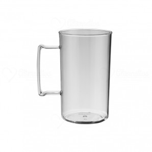 Caneca de Chopp Pratic 450 ml | Transparente