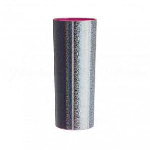 Copo Long Drink | Metalizado Prata Int. Rosa Neon